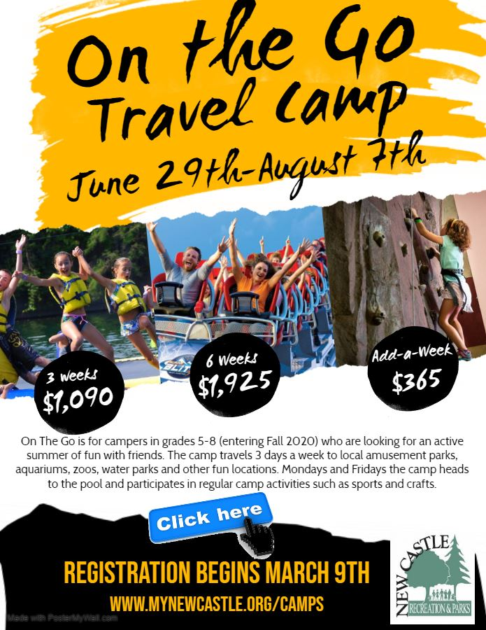 On The Go Camp Flyer 2020