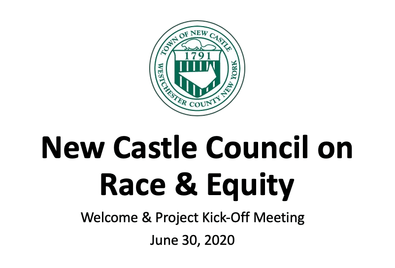 Council on Race & Equity Presentation June 30, 2020